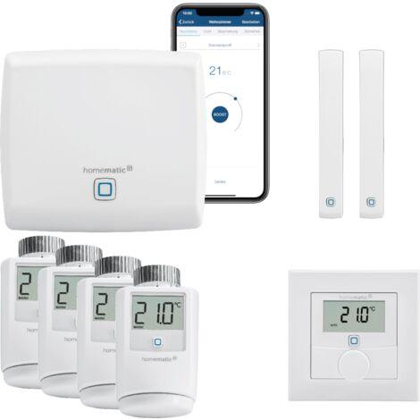 Homematic IP FUNK Smart Home Heizungssteuerung Komplettpaket