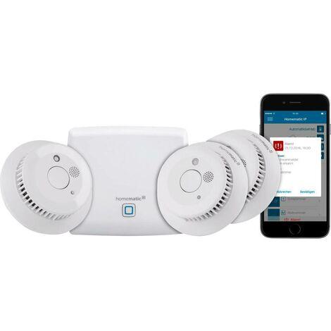 Homematic IP Kit de démarrage détecteur de fumée HmIP-SK4 S779021