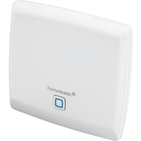 Homematic IP point d'accès, box domotique pour votre maison connectée, application gratuite et contrôle vocal via Amazon Alexa et l'assitant Google