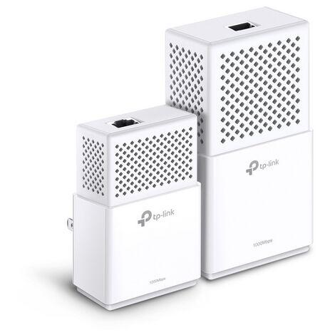 Homeplug wifi tp-link tl-wpa7510 kit ac750 av1000 con 1pto giga kit compuesto de 1*tl-pa7010 & 1*tl-wpa7510