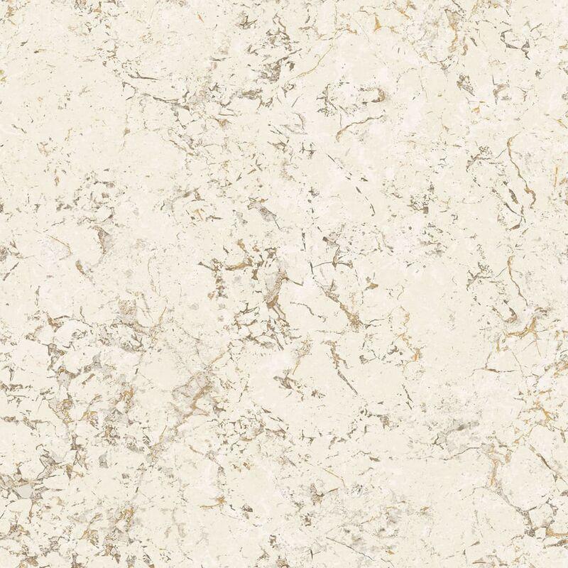 Image of Wallpaper Marble Beige - Beige - Homestyle