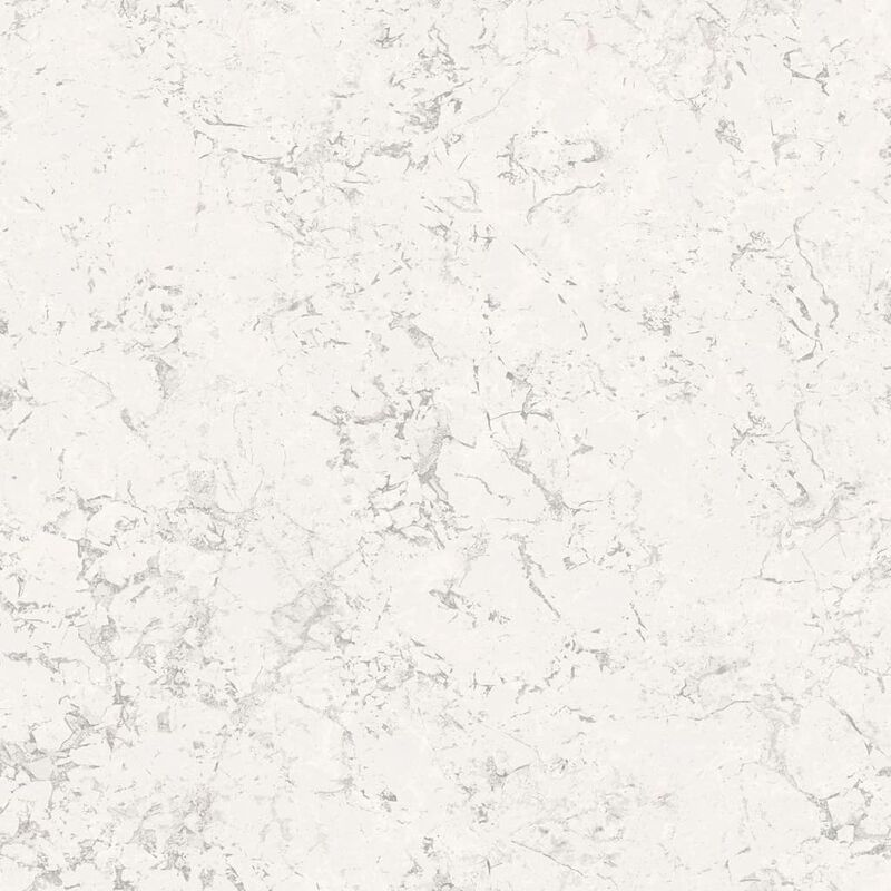 Image of Wallpaper Marble Off-white - White - Homestyle