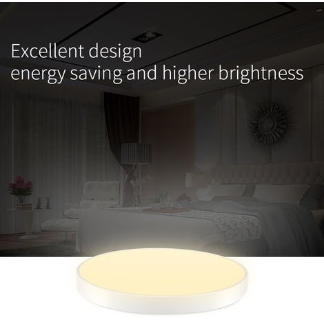 Hommoo 10 Piece Ultra-thin Round LED Ceiling Down Light for Bathroom Kitchen LiVing