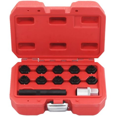 Hommoo 12 Piece Rim Lock Socket Set for Mercedes QAH07918