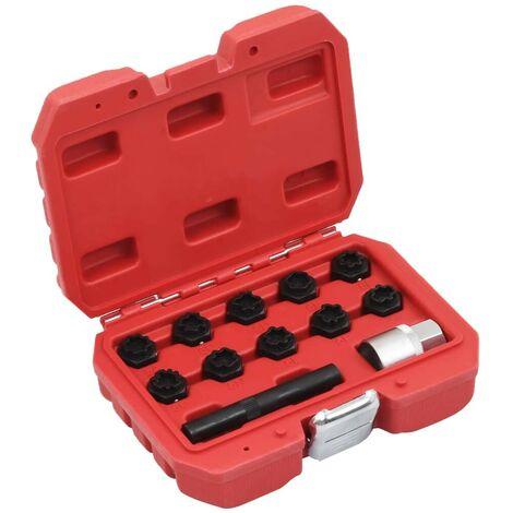 Hommoo 12 Piece Rim Lock Socket Set for Mercedes VD07918