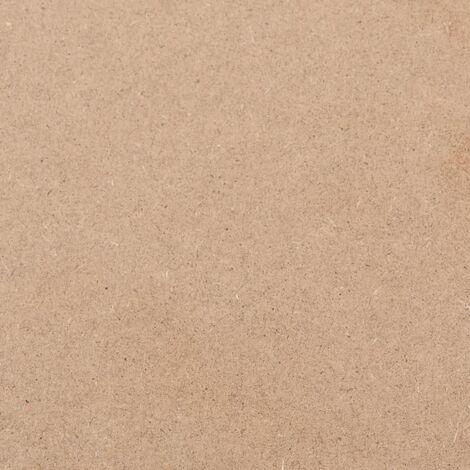 Hommoo 2 pcs MDF Sheets Rectangular 120x60 cm 12 mm QAH05309