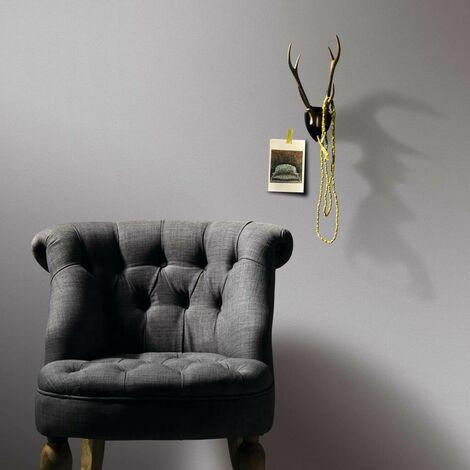 Hommoo 2 pcs Wallpaper Rolls Plain Shimmer Light Grey 0.53x10 m VD35513
