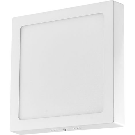 Hommoo 2 Piece 24W Surface Mounted Panel Light Warm White Square 220V