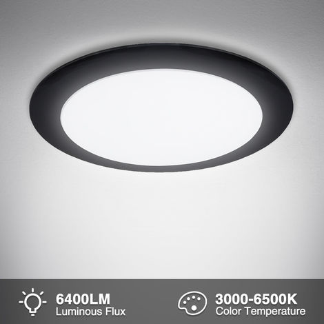 Hommoo 2 Piece Ultra-Thin Flying Saucer Ceiling Lamp Voltage 220V LLDDE-MA0055909X2