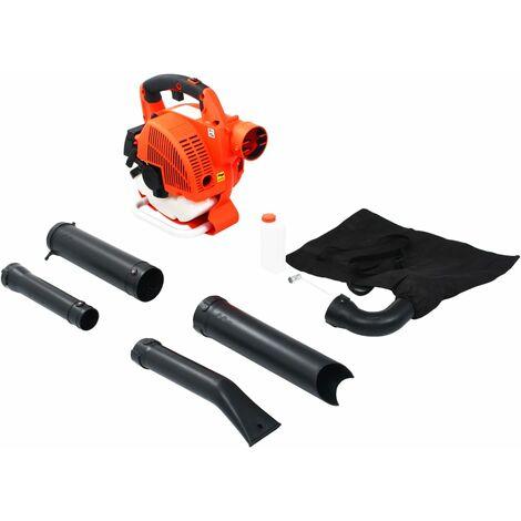 Hommoo 3 in 1 Petrol Leaf Blower 26 cc Orange QAH06360