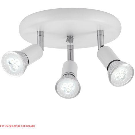 Hommoo 4 Piece LED Three Head Spotlights LLDDE-MC0030612X4