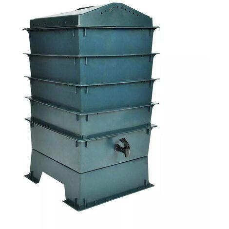 Hommoo 4-Tray Worm Factory 42x42x60 cm