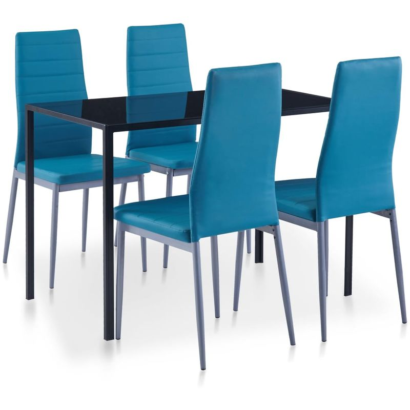 5-tlg. Essgruppe Blau VD23299 - Hommoo
