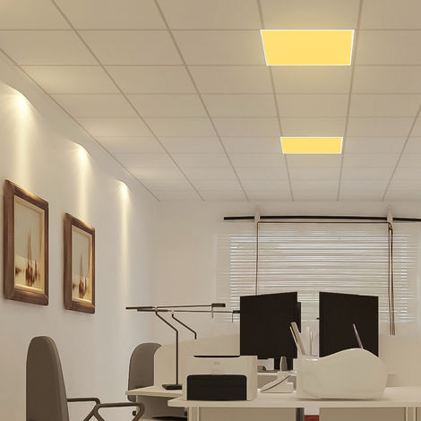 "main image of ""Hommoo 6 Piece Large Panel Light Office Light LLDDE-MA0108506X6"""
