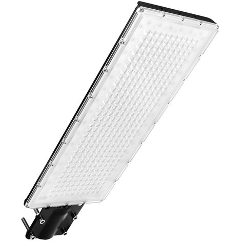 Hommoo 8 Piece 300W LED Street Light for Gardens Squares Billboards Factories Docks