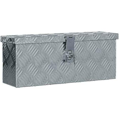 "main image of ""Hommoo Aluminium Box 48.5x14x20 cm Silver VD04949"""