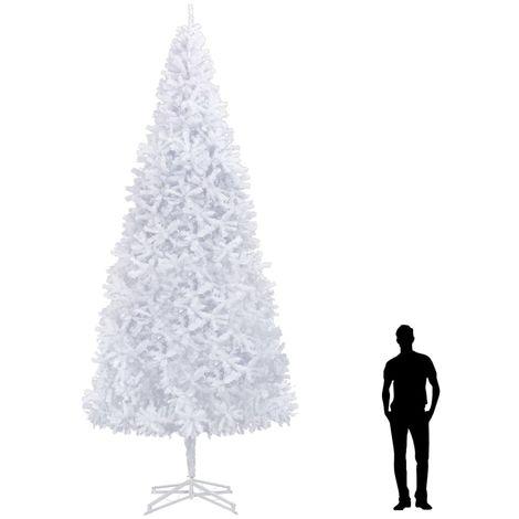 Hommoo árbol de Navidad artificial blanco 500 cm