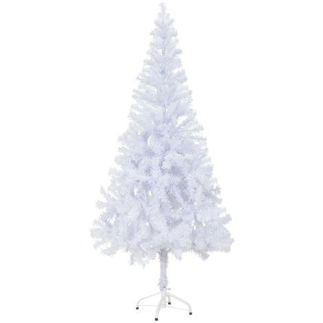 Hommoo árbol de Navidad artificial con soporte 180 cm 620 ramas