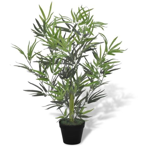 Hommoo Artificial Bamboo Tree with Pot 80 cm