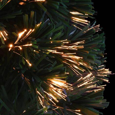 Hommoo Artificial Christmas Tree Fibre Optic 64 cm Green QAH12333