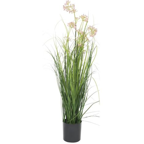 Hommoo Artificial Grass with Flower 75 cm
