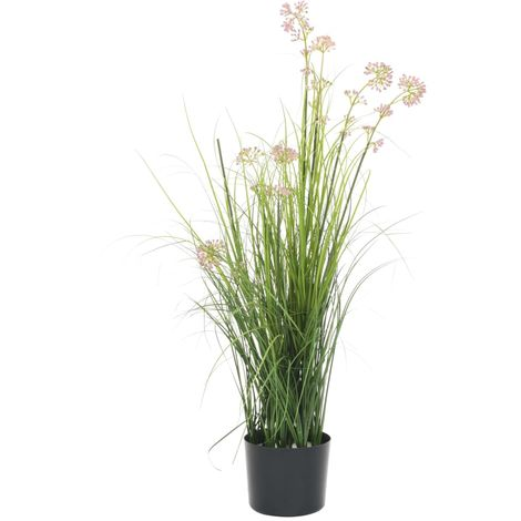 Hommoo Artificial Grass with Flower 95 cm