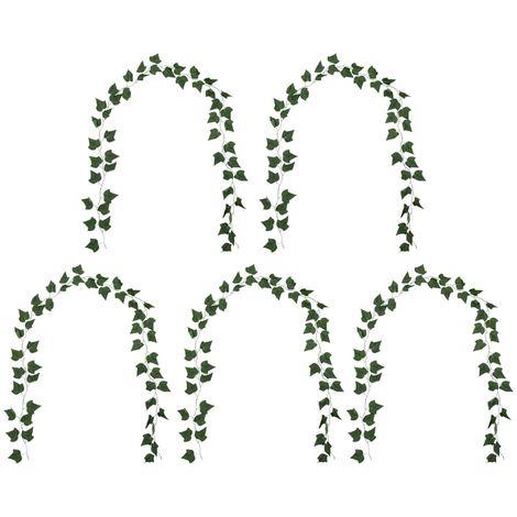 Hommoo Artificial Leaves Ivy 5 pcs Green 300 cm VD22258