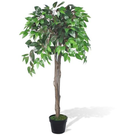 Hommoo Artificial Plant Ficus Tree with Pot 110 cm