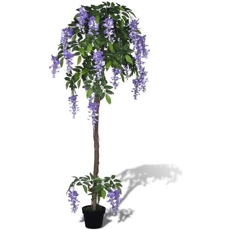 Hommoo Artificial Wisteria with Pot 160 cm