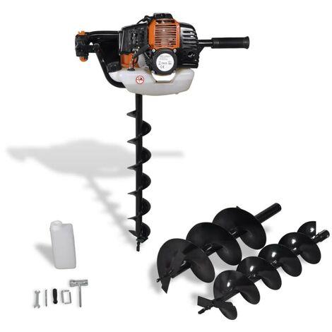 Hommoo Auger Ground Drill Orange VD03516