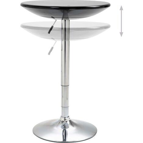 Hommoo Bar Table Black Ø60 cm ABS QAH14590