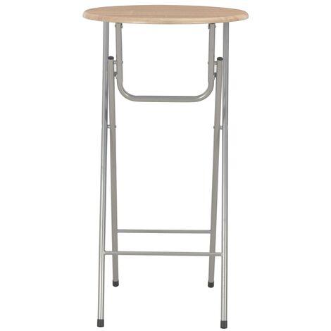 Hommoo Bar Table Oak 60x112 cm MDF QAH24930