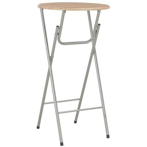 Hommoo Bar Table Oak 60x112 cm MDF VD24930