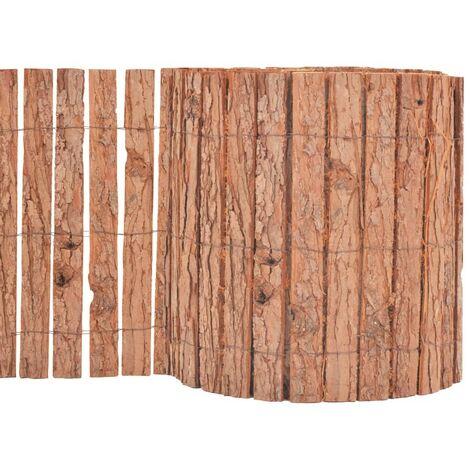 Hommoo Bark Fence 1000x30 cm VD04749