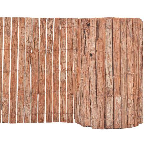 Hommoo Bark Fence 1000x50 cm VD04750
