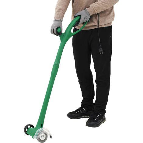 Hommoo Barredora de hierba eléctrica 140 W verde