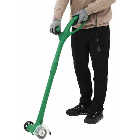 Hommoo Barredora de hierba eléctrica 140 W verde HAXD05871