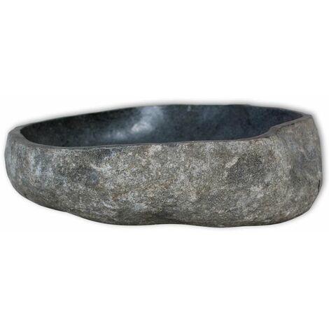 Hommoo Basin River Stone Oval 30-37 cm QAH09357