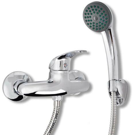Hommoo Bath Shower Mixer Tap Kit Chrome