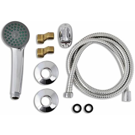 Hommoo Bath Shower Mixer Tap Kit Chrome QAH03728