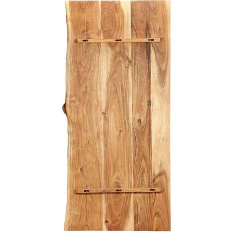 Hommoo Bathroom Vanity Top Solid Acacia Wood 120x55x3.8 cm QAH36733