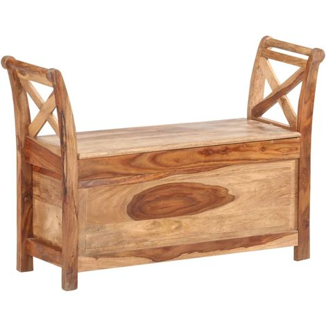 Hommoo Bench 103x33x72 cm Solid Sheesham Wood