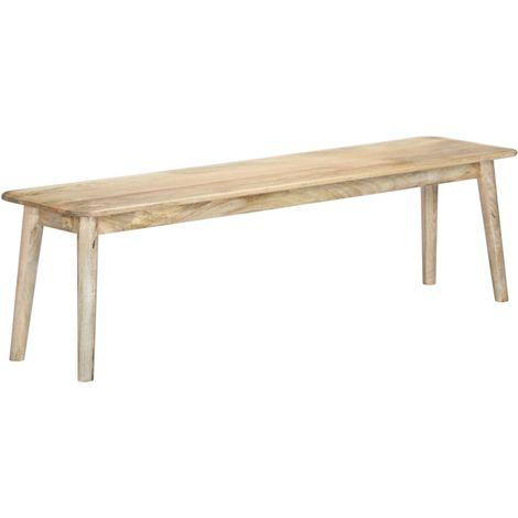 Hommoo Bench 160 cm Solid Mango Wood
