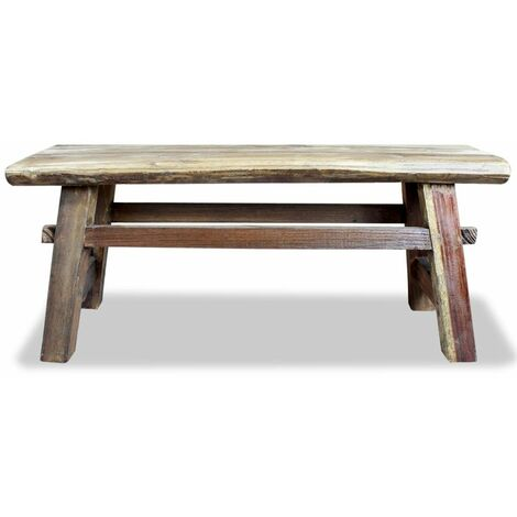 Hommoo Bench Solid Reclaimed Wood 100x28x43 cm QAH10600