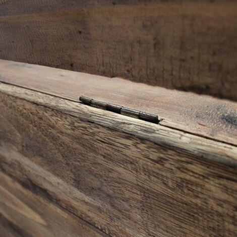 Hommoo Bench Solid Reclaimed Wood 86x40x60 cm QAH10613
