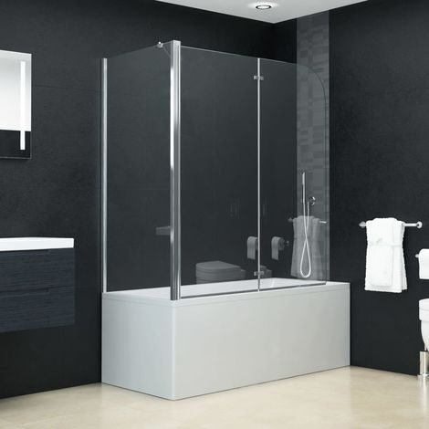Hommoo Bi-Folding Shower Enclosure ESG 120x68x130 cm