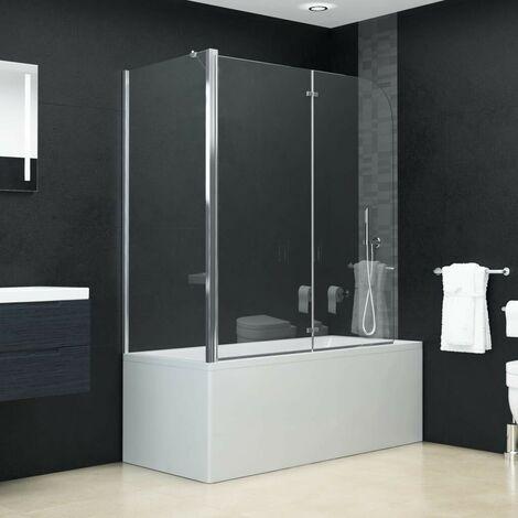 Hommoo Bi-Folding Shower Enclosure ESG 120x68x130 cm VD06122