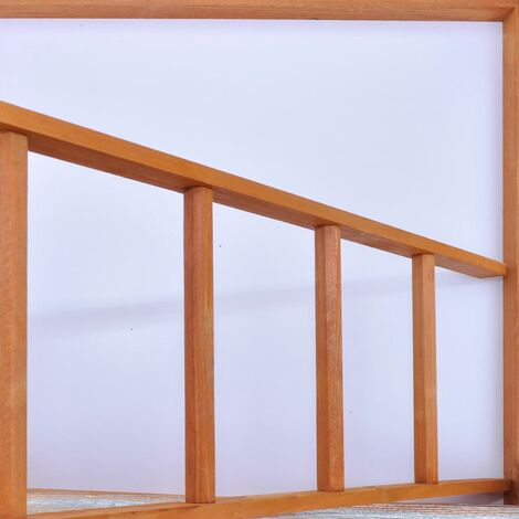 Hommoo Bird Cage Wood 65x63x165 cm QAH06970