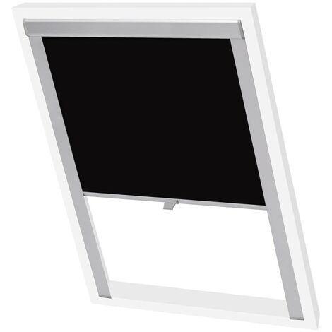 Hommoo Blackout Roller Blind Black SK06 VD02472
