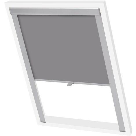 Hommoo Blackout Roller Blind Grey PK06 VD02448